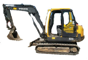 Volvo EC 55 Undercarriage Parts & Rubber Tracks
